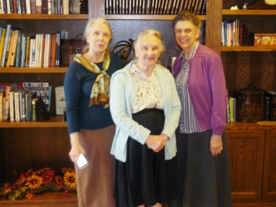 Sandra, Doris, Carol