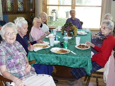 Residents at Valdez home