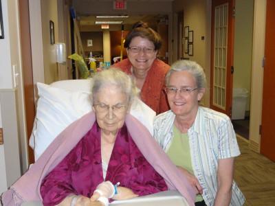 Barbara, Kathy, Karen