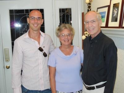 Josh, Patty and Dale Maki