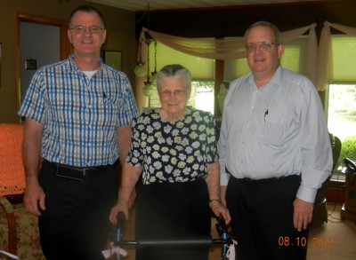 Bill Houston, Esther Potts, Duane Hettich