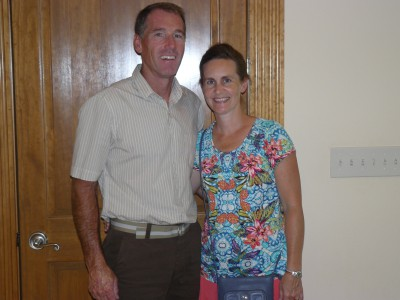 Shaun and Sandy Schleuter