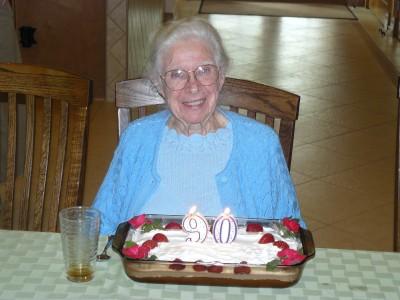 Jean turns 90