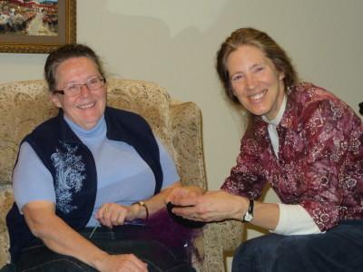Judy and Vivian