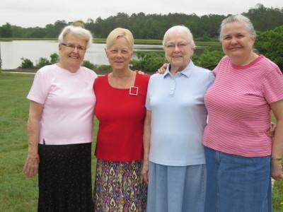 Ruth, Lorraine, Betty and Betty