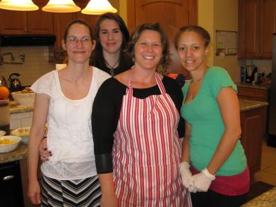 Melissa, Kirsten, Jennifer and Andrea