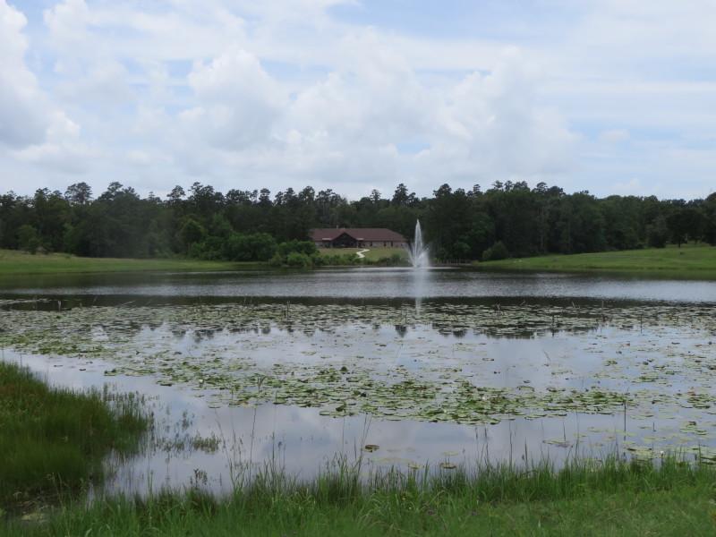 Residence across the lake