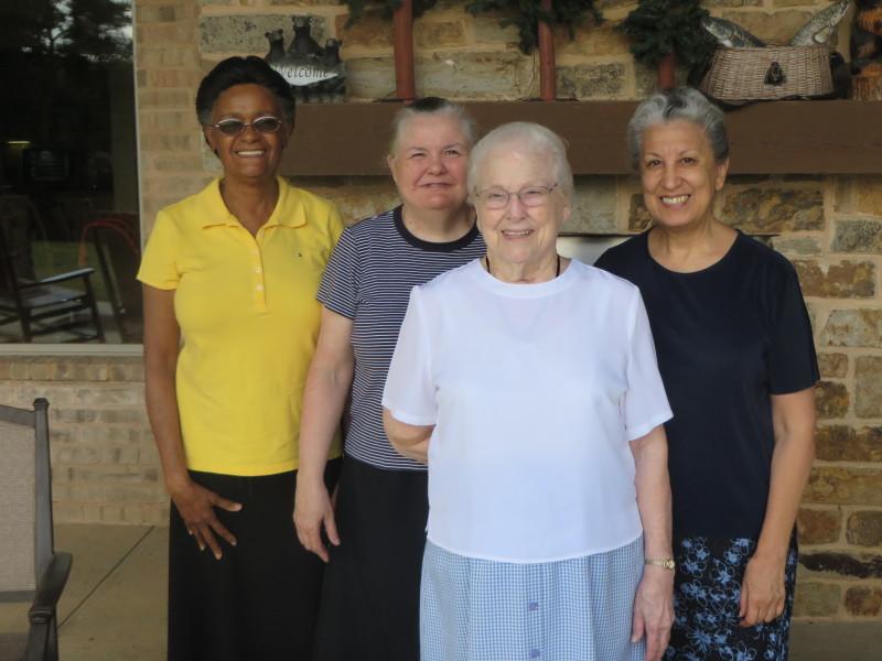 Hilde, Betty, Betty and Sylvia