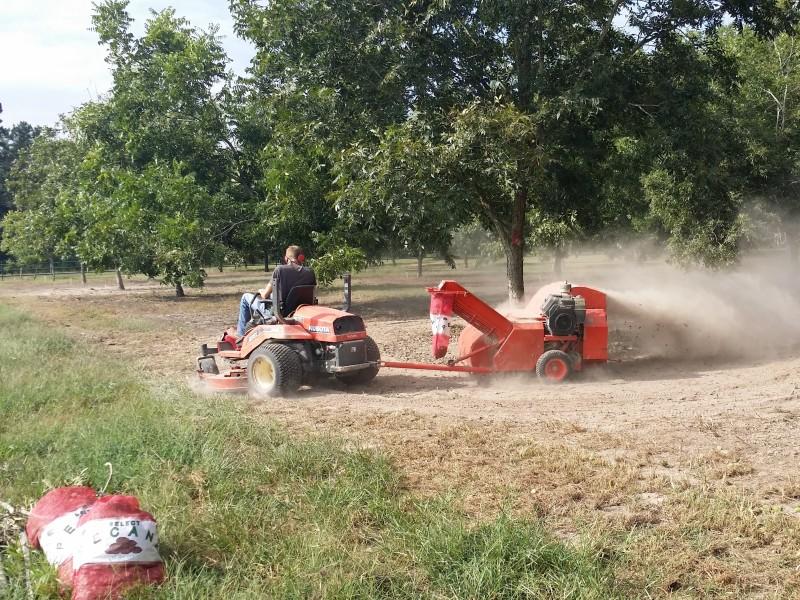 Pecan Harvester