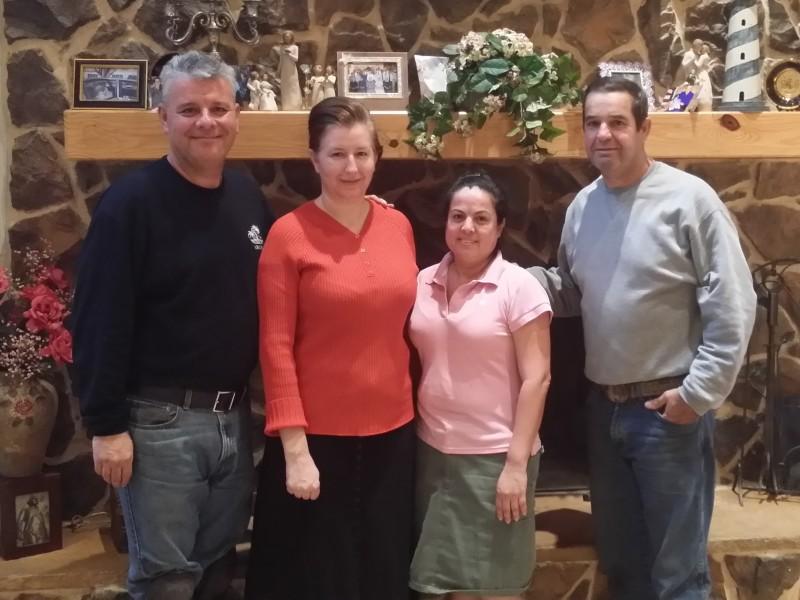 Hector, Betty Escaamilla with Conchita and Samuel Valdez