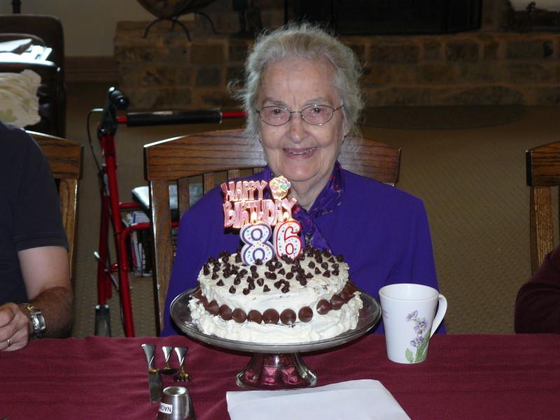 Naomi turns 86