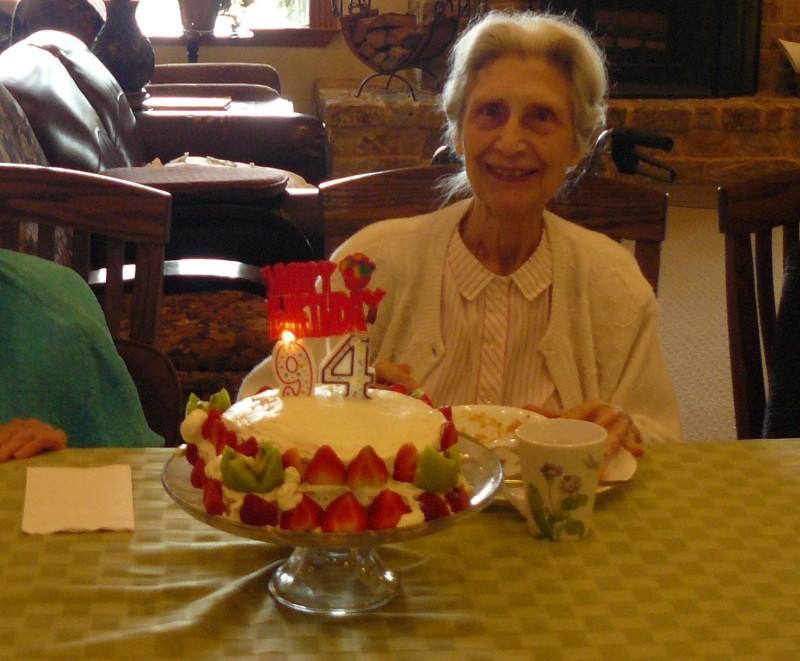 Teresa turns 94