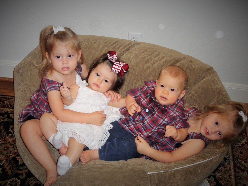 4 grandchildren
