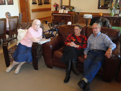 Betty, Sarah and Bernie