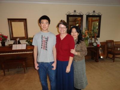 Johnathan, Kathy, Li Ping