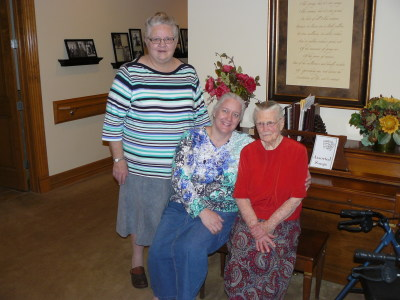 Martha, Mary Jo, Esther