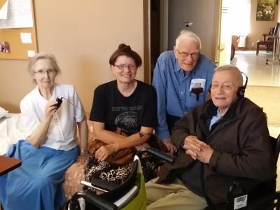Jeannette, Kathy, Elton, Roger