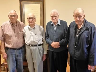 Jack, John, Elton and Raymond
