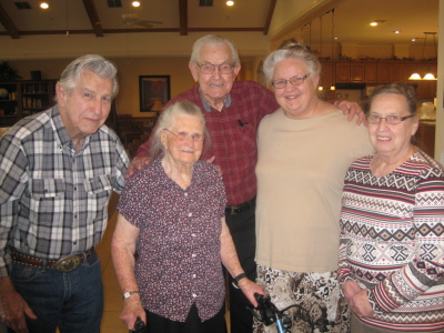 Don, Esther, Clarence, Martha, Lois