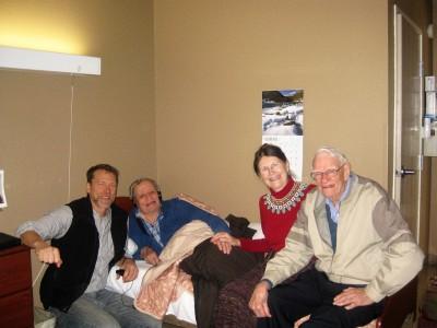 David, Roger, Cheryl and Elton