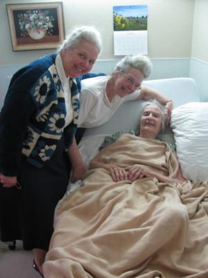 Ann, Alice and Naomi