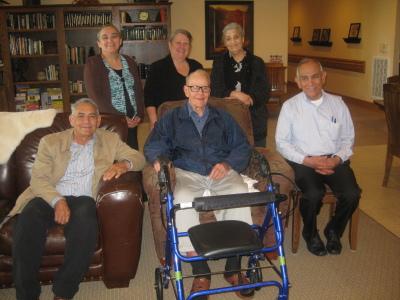 Davila family visits Raymond