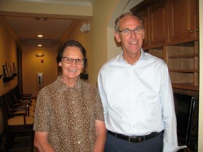 Diane and Leland