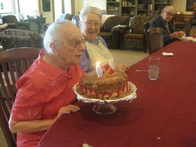 Doris turns 93