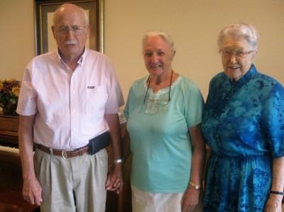 Hubert and Martha Dawley with Ruth